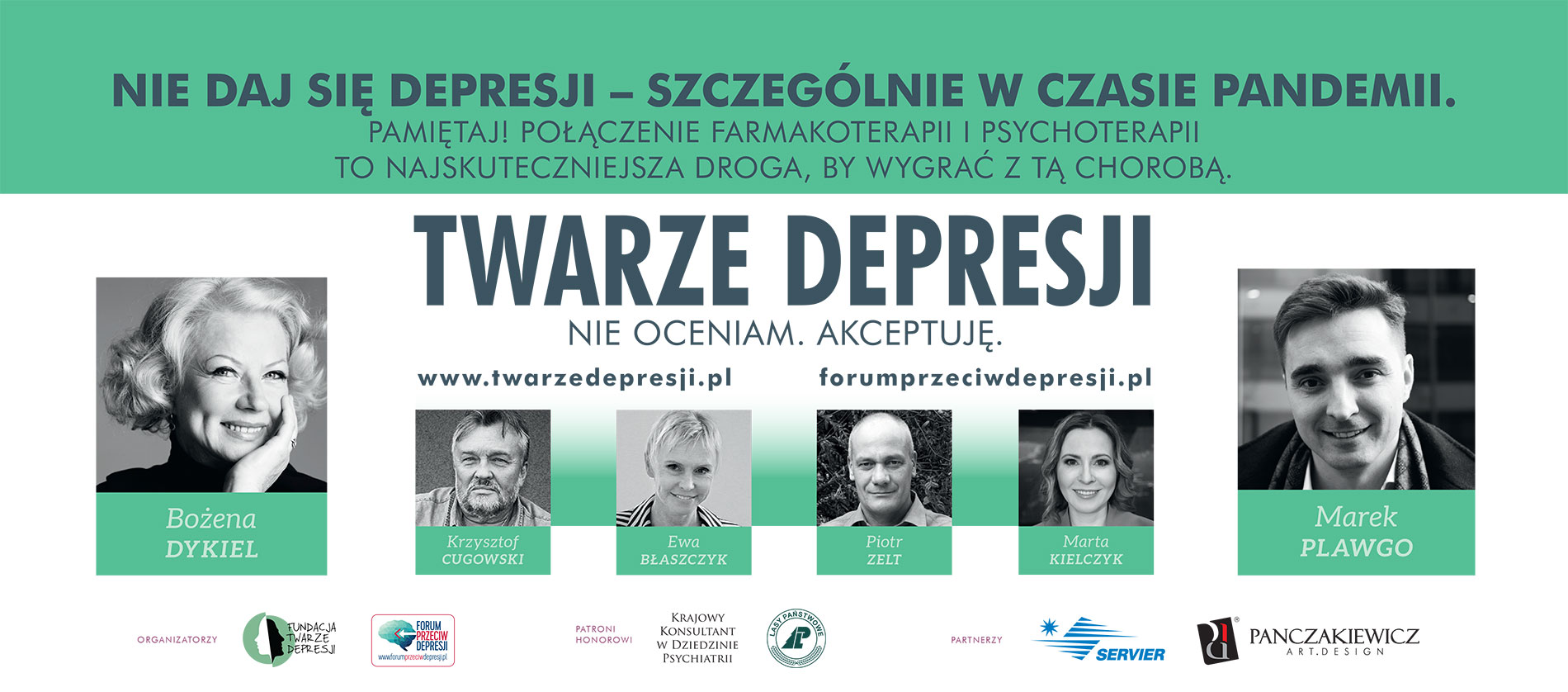 Plakaty 11 Edycja Twarze depresji – pobierz, wydrukuj, pokaż w swojej okolicy!