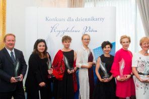 Kryształowe Pióra za najlepsze prace dziennikarskie przyznane!