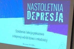 Za nami szkolenie dla nauczycieli i lekcja pokazowa o depresji wśród dzieci i młodzieży